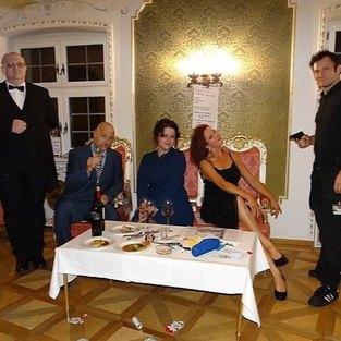 Murder Mistery Dinner auf Burg Rabenstein