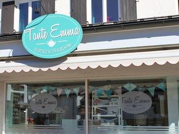 Herzlich Willkommen im Tante Emma Bistro & Tea Room in Fischen im Allgäu!