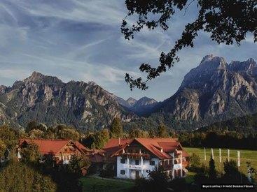 Wellness Hotel Sommer in Füssen im Allgäu