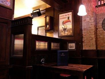 Trinken Sie das bekannte Guinness in unserem Irish Pub