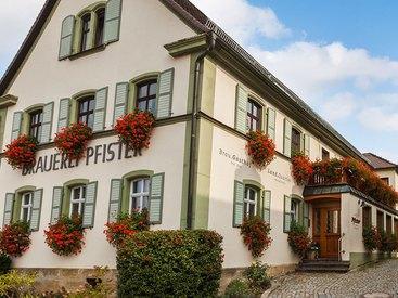 Brauereigasthof Pfister in Eggolsheim
