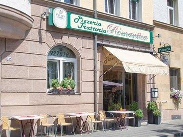 Eingangsbereich - Pizzeria Romantica