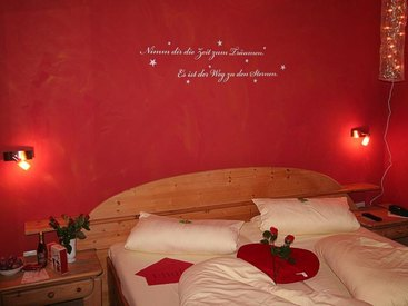 Ein bisschen Romantik im Zimmer