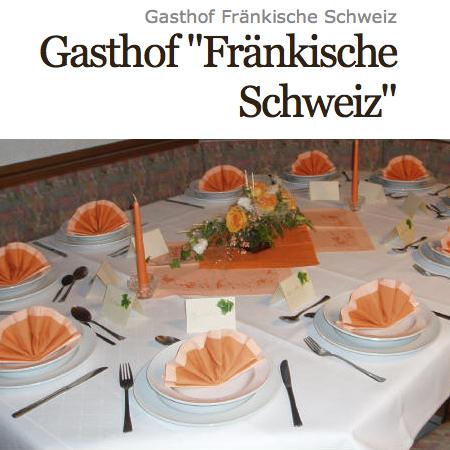 Gasthof Pension Cafe Fränkische Schweiz