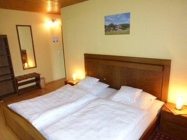 Beispiel Gästezimmer - alle Zimmer mit Dusche/WC und Sat-LED-TV