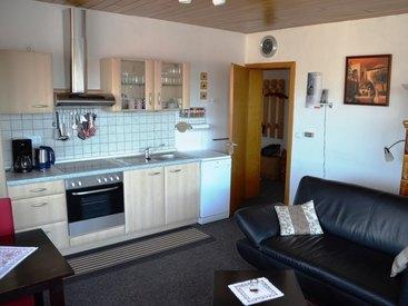 Küche in unserer Ferienwohnung in Fichtelberg