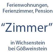 Logo Ferienwohnungen Pension Zimmer