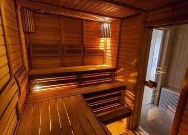 Was wir bieten: Sauna