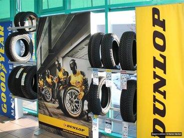 umfangreiches Reifen-Angebot aller namhafter Hersteller