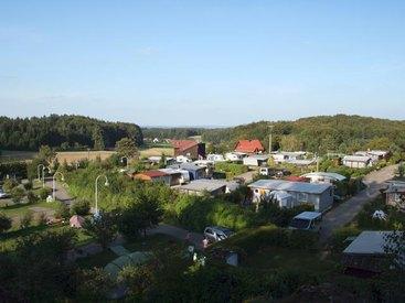 Campingplatz Betzenstein - Übersicht Dauercamper und Wohnwagenstellplätze