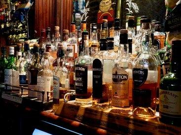 Genießen Sie die große Auswahl an Getränken in unserem Irish Pub