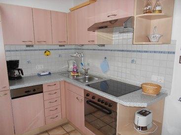 Ferienwohnung Lederer in Siegsdorf Küche