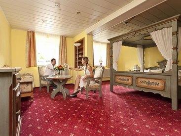 Hochzeitszimmer im  Hotel Goldner Stern in Muggendorf in der Fränkischen Schweiz