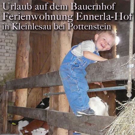 Ferienwohnungen Ennerla-Hof - Urlaub auf dem Bauernhof