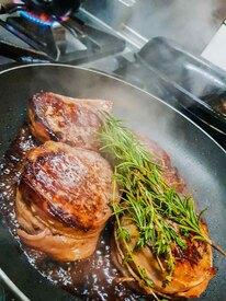 Steak im Opels Sonnenhof