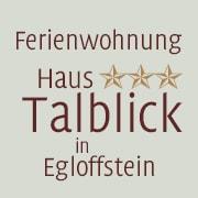 Logo *** Ferienwohnung Haus Talblick