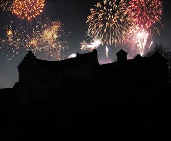 Silvester auf Burg Rabenstein