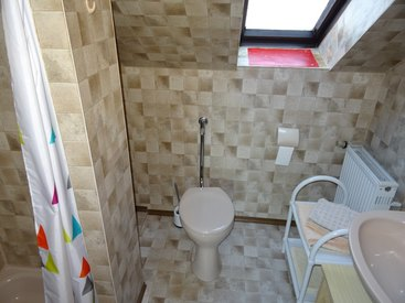 Bad Steben Ferienwohnung - Zum Seifengrund, Dusche/WC