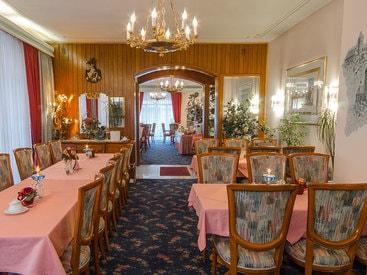 Restaurant / Cafe  im Hotel Krone in Gößweinstein