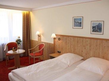 Doppelzimmer im Hotel Bayerischer Hof Prien