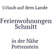 Logo Ferienwohnungen Schmitt