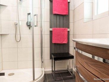 Willkommen in unserer Ferienwohnung 1 in Gößweinstein - Badezimmer