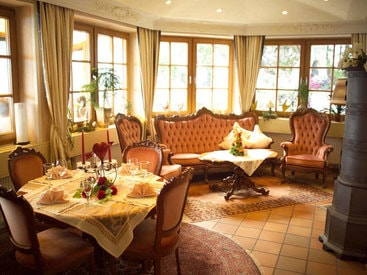 Salon Sophie im Burghotel auf dem Falkenstein
