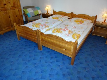 Ferienwohnung Heger - Zur Hügelwiese, Schlafzimmer