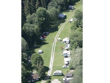 Luftbild Campingplatz