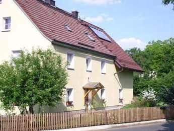Das Wohnhaus von der Straßenseite