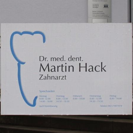 Zahnarzt Dr. Martin Hack