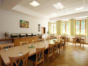 Speisesaal für Seminar-Teilnehmer