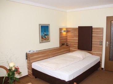 Einzelzimmer im Hotel Bayerischer Hof Prien