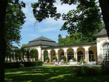 Wandelhalle/Kurpark Bad Steben