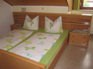 Ferienwohnung oben, Doppelbettschlafzimmer
