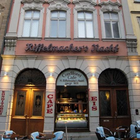 Cafe Riffelmacher , Conditorei-Café-Eiscreme