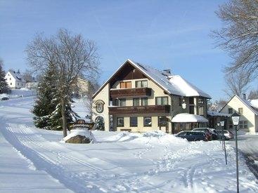 Winterbild Gasthof Hammerschmiede