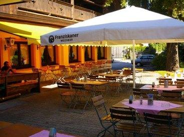 Gasthof Hochries in Frasdorf - Biergarten