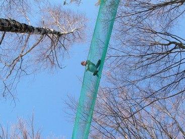 Abenteuerpark im Winter