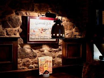 Die authentische Einrichtung in unserem Irish Pub