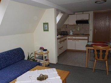 Wohnbereich/Küche Wohnung 2