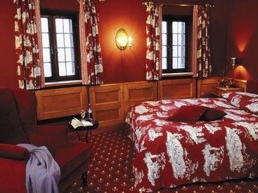 Tolle Zimmer auf Burg Rabenstein