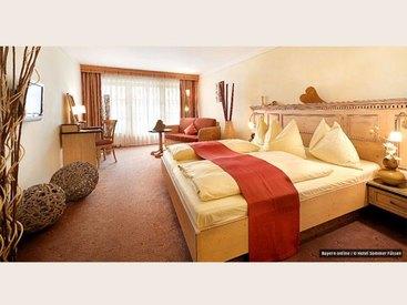 Doppelzimmer im Wellness Hotel Sommer