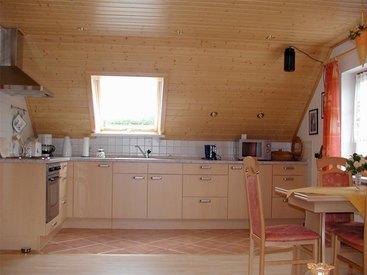 Küche der Ferienwohnung Schultheiß