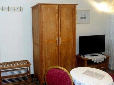 Schlafzimmer im Ferienhaus des Hotel Krone in Gößweinstein