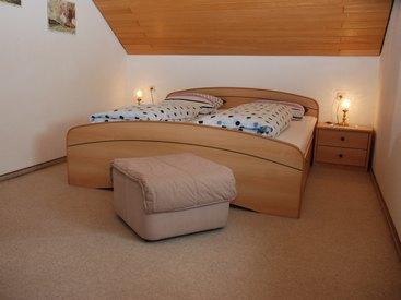 Schlafzimmer unserer Ferienwohnung im 1 Stock