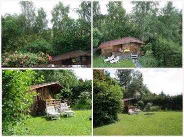 Bad Steben Ferienwohnungen Heger - Garten mit Liegewiese