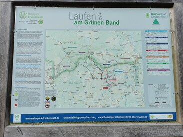 Wandern am Grünen Band