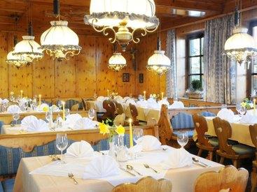 Hotel zur Post in Rohrdorf - Restaurant