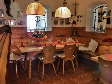 Restaurant im Hotel Berggasthof Adersberg